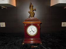 Kaminuhr antik mit Aufsatzfigur Uhr Figur
