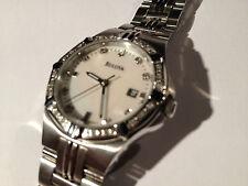 BULOVA Diamond Ladys Watch 96R136 rrp £339
