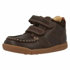 Clarks Boots Shoes for Boys with Hook & Loop Fasteners
