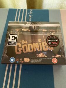THE GOONIES- HMV EXCLUSIVE - CINE EDITION- 4K ULTRA HD-NEW/SEALED
