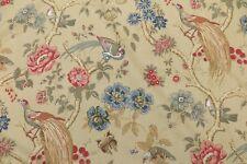 Gp J Baker Curtain Fabric Design Paradise Bird 2 Metres Bronze