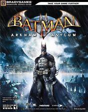 Batman: Arkham Asylum Signature Series Guide (Bradygames Strategy Guides) - D89