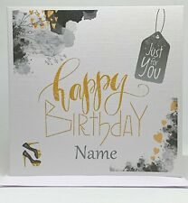 Personalised Birthday card, Happy Birthday Card, Greeting Card for all occasions
