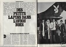 Coupure de presse Clipping 1980 Hugh Hefner les 50 ans de mr PlayBoy (8 pages)