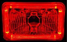 RED Halo H4 Headlamps Angel Eye Daihatsu Feroza Rocky Suzuki Swift Dodge Ram