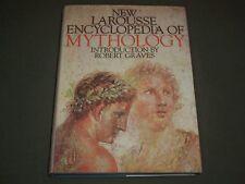 1974 NEW LAROUSSE ENCYCLOPEDIA OF MYTHOLOGY HARDCOVER BOOK - I 1326