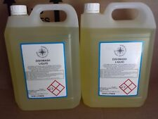 AUTOMATIC DISHWASHER CLEANER DETERGENT FLUID LIQUID 2 x 5 LT TOTAL 10 LITRES