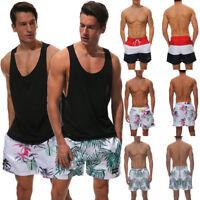 Men's Swimming Board Shorts Swim Shorts Trunks Swimwear Casual Beach Underwear