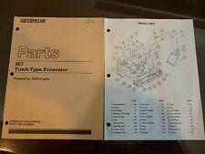 Caterpillar  E-307 Excavator  Parts manual with 4D32 engine