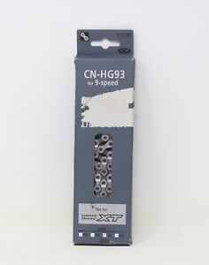 NOS SHIMANO ULTEGRA XT 9S SPEED CHAIN HG-CN93 VINTAGE ROAD MOUNTAIN BIKE MTB OLD
