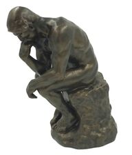 The Thinker Statue of Deep Contemplation by Rodin Museum Replica Parastone 10H