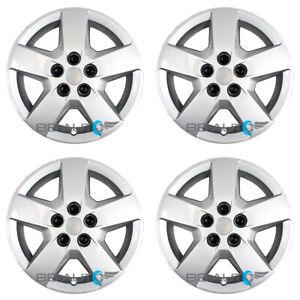 "4 NEW 16"" 5 Spoke Silver Hubcaps Wheel Covers Set for 2007-2011 CHEVROLET HHR"