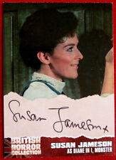 "BRITISH HORROR COLLECTION - SUSAN JAMESON as Diane in ""I, MONSTER"" Autograph SJ2"