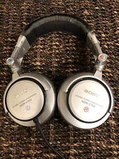 """""""SONY"""" MDR-V700 Silver DJ Foldable Headband Headphones Studio Grade .!!!"""