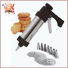Pistolet décoratif Cookie Biscuit Dessert Poche à douille Presse à biscuits