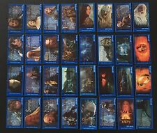 Lord Of The Rings - Bassett / Barratt - 32 Trading Card Set - Cigarette Cards