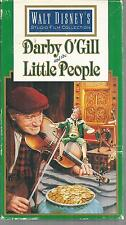 Darby O'Gill and the Little People VHS Very Good Walt Disney Home Video