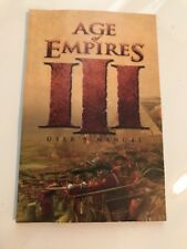 Age of Empires 3 III (BOOKLET ONLY) Microsoft Game Studios Windows