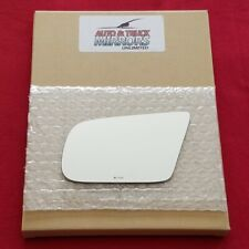 Mirror Glass + Adhesive For 87-93 Ford Mustang Driver Side Replacement