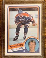 1984-85 O-Pee-Chee WAYNE GRETZKY  #243 HOF  OPC  -  Mint Slightly OC