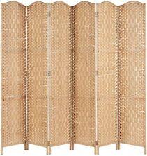 Hartleys Solid Weave Hand Made Wicker Room Divider