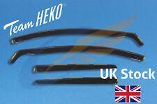 SEAT LEON ST mk3 5-door Estate 2014-onwards 4-pc wind deflectors HEKO TINTED