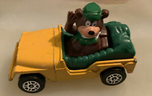 Vintage  Corgi Yogi Bear Jeep.  Die-cast.  1:64