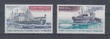 Navires Français Zones dans La Antarctique Taaf 155/56 (MNH)