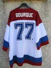 Maillot hockey NHL AVALANCHE DU COLORADO shirt BOURQUE n°77 vintage L / XL