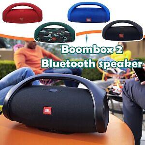 JBL Boombox 2 Wireless Bluetooth Speaker IPX7 Boom Box Waterproof Music