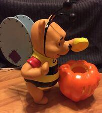 Adorable Rare Winnie The Pooh Lamp Night Light Halloween Decoration