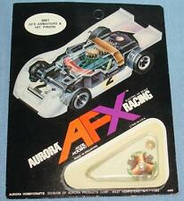 AURORA MoDEL MoToRING AFX HO SLOT CAR RACING MEAN GREEN ARMATURE 14T PINION 8867