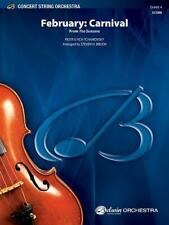 February: Carnival (from The Seasons) String Orchestra MUSIC BOOK SCORE ONLY