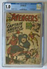 Avengers #4 CGC 1.0 - 1st Silver Age Captain America 1964 Marvel Comics