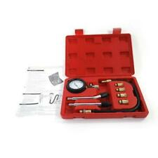 Cylinder Compression Tester Gas Petrol Engine Gauge Kit for Car with Carry Case