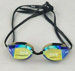 TYR Edge-X Swim Racing Mirrored Swimming Goggle