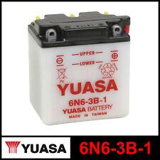 BATTERIA [YUASA] 6N6-3B-1 (6 VOLT / 6 AMPERE)