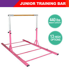 Training Bar Horizontal Bar Junior Gymnastics Adjustable Equipment Indoor Sports