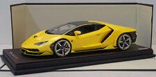 MR Collection 1/18 Lamborghini Centenario Midas Yellow LAMBO023B