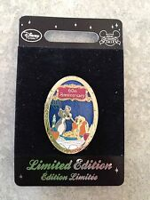 Europe Disney Store Lady And The Tramp 60th Anniversary Pin LE 300 HTF