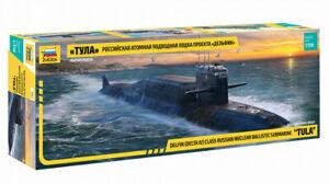 Zvezda 9062 Delfin DELTA IV Class Russian Nuclear Ballistic Submarine TULA 1/350