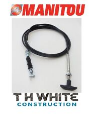 Manitou Pick Up Hitch Control Cable 219750 MLT MT (MM)