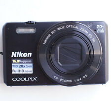 Nikon Coolpix S7000 16MP 1080p WiFi App Shoot Black Digital Camera #2