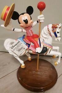 MED FIGURINE MICKEY & JINGLES Disneyland Paris
