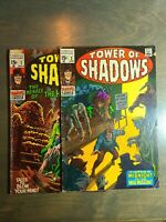 TOWER OF SHADOWS 2 Book lot #2,3 Heck - Marvel Comics (1970)