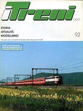 I TRENI FNM VERSO IL 2000 LE NOVITÀ DI NORIMBERGA N° 92 - 1989 DURA6