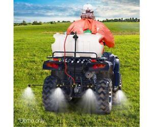Weed Sprayer 1.5 BOOM width spray ATV 100L SPOT SPRAY TANK Chemical Farm Pump