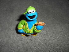Sesame Street  HENSON CHINA  COOKIE MONSTER PVC Figure Holding Cookie