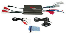 Pyle PLMRMP3B Marine 800W 4 Channel iPod/MP3 Power Amp+Volume Remote control