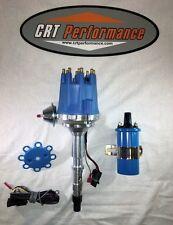 small cap AMC V8 HEI DISTRIBUTOR BLUE + 45K COIL 290 304 343 360 390 401 JEEP